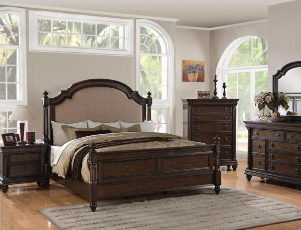 99001 Ashbury Collection - Bedroom Set침대+화장대+거울+협탁 세트벨 ...