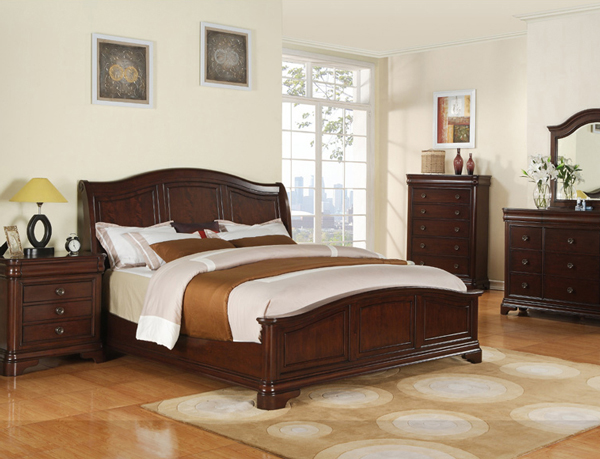 Cm 750 cameron sleigh bedroom set Elements cameron bedroom set