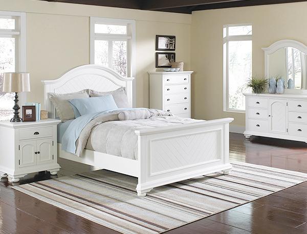 BP700_Brook Collection Bedroom Set침대+화장대+거울+협탁 세트 5조한정 ...