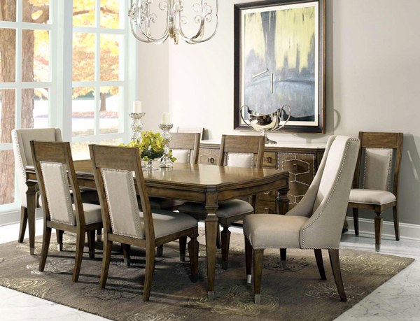 S4115 - Traveler Boutique Collection / Dining Set 6인 식탁 세트( 테이블 ...